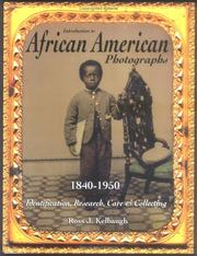 Cover of: Introduction to African American Photographs: 1840-1950