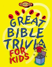 Cover of: Great Bible Trivia for Kids (Christian Library)