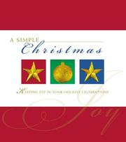 Cover of: A simple Christmas