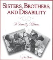 Cover of: Sisters, brothers, and disability
