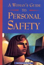 Cover of: A woman's guide to personal safety