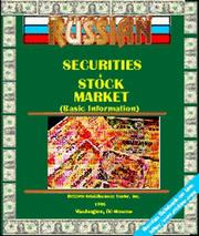 Cover of: Russian Securities and Stock Market Guide