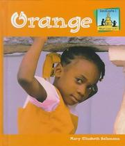 Cover of: Orange (What Color Is It?)