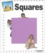 Cover of: Squares: Sandcastle 1 - What Shape Is It?