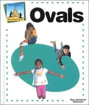 Cover of: Ovals: Sandcastle 1 - What Shape Is It?