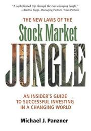 Cover of: The New Laws of the Stock Market Jungle | Michael J. Panzner