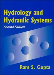 Cover of: Hydrology and hydraulic systems