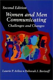 Cover of: Women and men communicating | [edited by] Laurie P. Arliss, Deborah J. Borisoff.