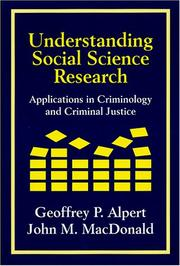 Cover of: Understanding social science research