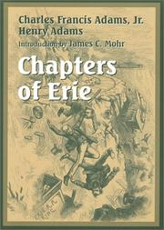 Cover of: Chapters of Erie: and other essays.
