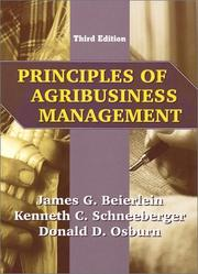 Principles of agribusiness management by James G. Beierlein