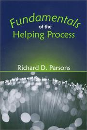 Cover of: Fundamentals of the Helping Process
