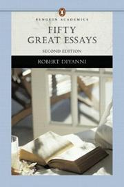 Cover of: Fifty great essays