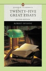 Cover of: Twenty-five great essays