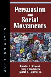 Cover of: Persuasion and social movements