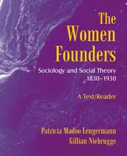 Cover of: The Women Founders | Patricia Madoo Lengermann