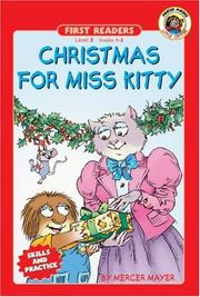 Cover of: Christmas for Miss Kitty