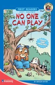 Cover of: No one can play