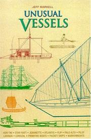 Cover of: Unusual Vessels