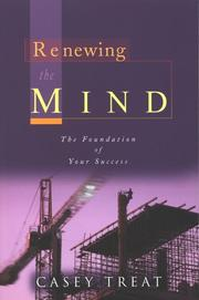 Cover of: Renewing the Mind | Casey Treat