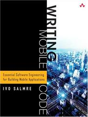 Cover of: Writing mobile code | Ivo Salmre