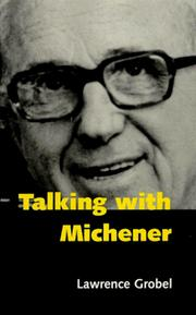 Cover of: Talking with Michener