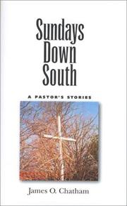 Cover of: Sundays down South