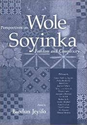 Cover of: Perspectives on Wole Soyinka | Biodun Jeyifo