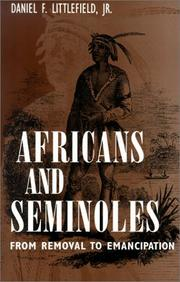 Cover of: Africans and Seminoles