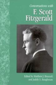Cover of: Conversations with F. Scott Fitzgerald
