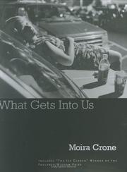 Cover of: What gets into us
