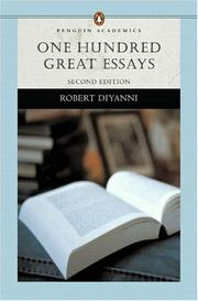 Cover of: One hundred great essays