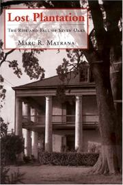 Cover of: Lost Plantation | Marc, R. Matrana