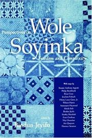 Cover of: Perspectives on Wole Soyinka
