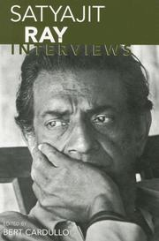 Cover of: Satyajit Ray: Interviews (Conversations With Filmmakers Series)