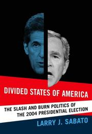 Cover of: Divided states of America
