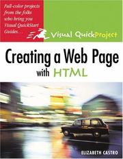 Cover of: Creating a Web page with HTML