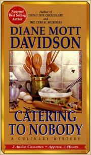 Cover of: Catering to Nobody (Culinary Mystery)