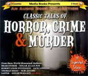 Cover of: Classic Tales of Horror, Crime, and Murder