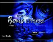 Cover of: Instant Boris Effects (VASST Instant) (Instant Series) | Chris Vadnais