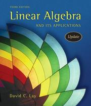 Linear Algebra and Its Applications [with CD-ROM]