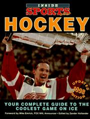 Cover of: Inside Sports Hockey 1998 (Hockey News Hockey Almanac) | Zander Hollander
