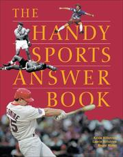 Cover of: The handy sports answer book
