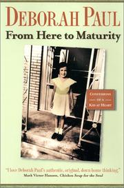 Cover of: From Here to Maturity (Indiana)