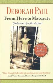 Cover of: From Here to Maturity