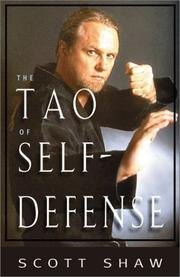 Cover of: The Tao of Self-Defense | Scott Shaw