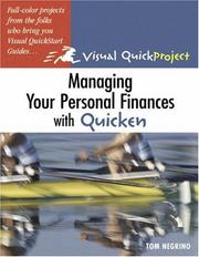 Cover of: Managing your personal finances with Quicken