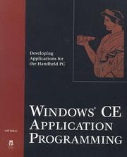 Windows CE programming