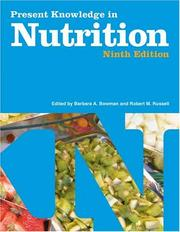 Cover of: Present Knowledge in Nutrition Volume II | Barbara A. Bowman