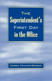 Cover of: The Superintendent